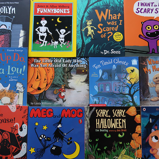 Spooky Kids Books For Halloween (Toddler/Preschool)