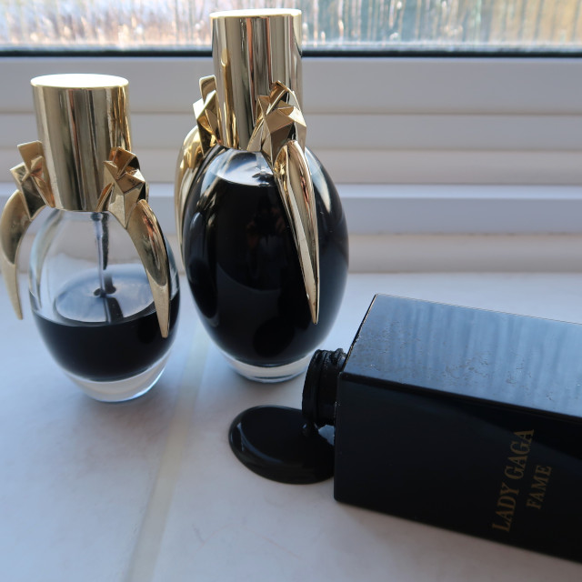 Lady Gaga Fame Eau de Parfum and shower gel
