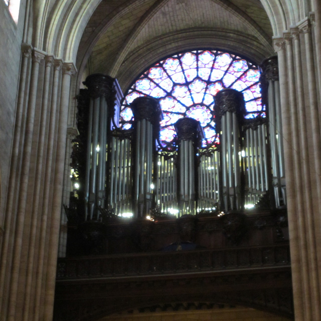 The organ of Notre-Dame